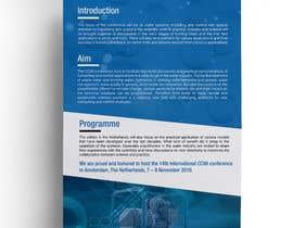 Nro 17 kilpailuun Design a conference brochure / flyer / folder käyttäjältä stylishwork
