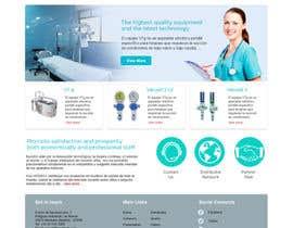 Nro 5 kilpailuun Design a Website Mockup käyttäjältä RvInformatics