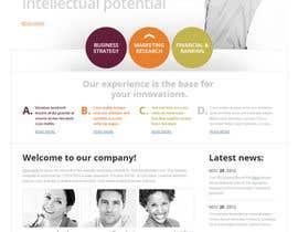 Nro 2 kilpailuun Design a Website Mockup käyttäjältä stcserviciosdiaz