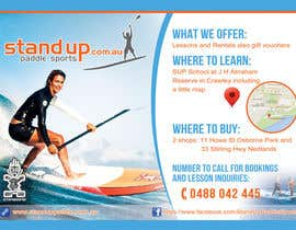 nº 39 pour Design a Flyer for a Stand Up Paddle School par iTechnoVista