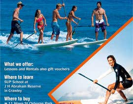 nº 20 pour Design a Flyer for a Stand Up Paddle School par rajnandanpatel