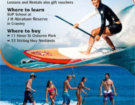 #36 for Design a Flyer for a Stand Up Paddle School af rajnandanpatel
