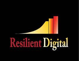 Nro 9 kilpailuun Refreshed logo design for resilient digital käyttäjältä AlyAsim99