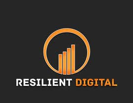 Nro 26 kilpailuun Refreshed logo design for resilient digital käyttäjältä UnstableEntropy