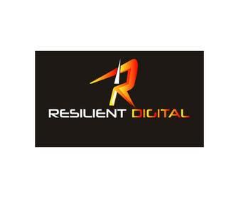 desingtac tarafından Refreshed logo design for resilient digital için no 41