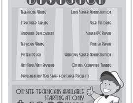 #8 untuk Flyer Design for Tech Services Division oleh slavrinc