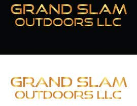 "muneebalams tarafından Unique font design for company name ""Grand Slam Outdoors LLC"" için no 35"