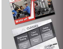 Nro 53 kilpailuun Design a Flyer for fitness studio käyttäjältä biplob36