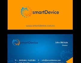 #27 para Design some Business Cards for smartDevice por mogharitesh