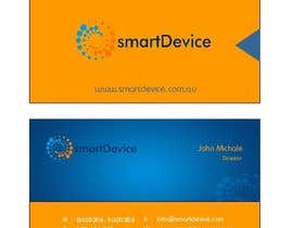 #28 para Design some Business Cards for smartDevice por mogharitesh