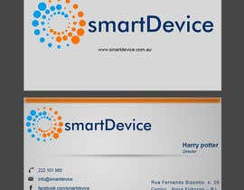 #21 para Design some Business Cards for smartDevice por preethyr