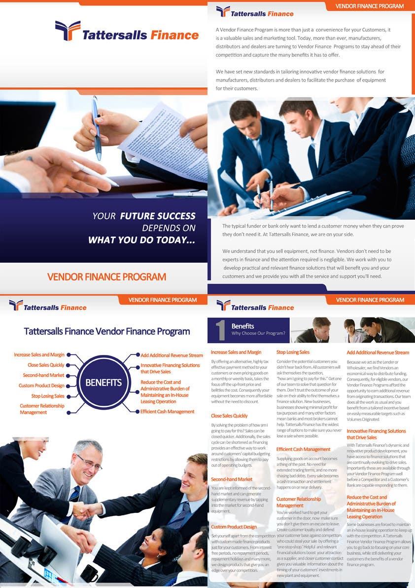 Inscrição nº                                         66                                      do Concurso para                                         Brochure Design for Finance HQ