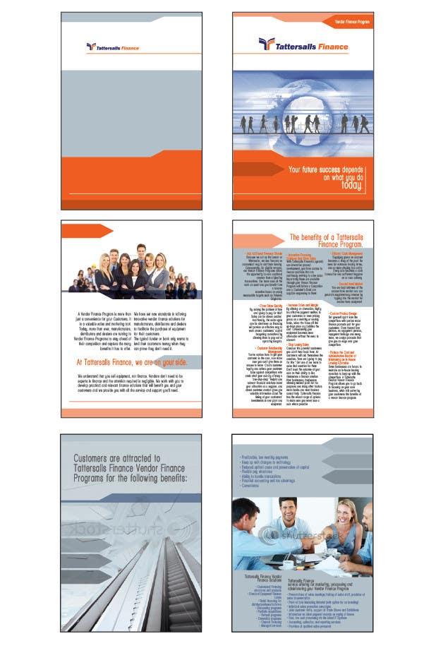 Inscrição nº                                         80                                      do Concurso para                                         Brochure Design for Finance HQ