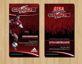 RERTHUSI tarafından (6) Business Card Designs needed for Youth Soccer Team için no 16