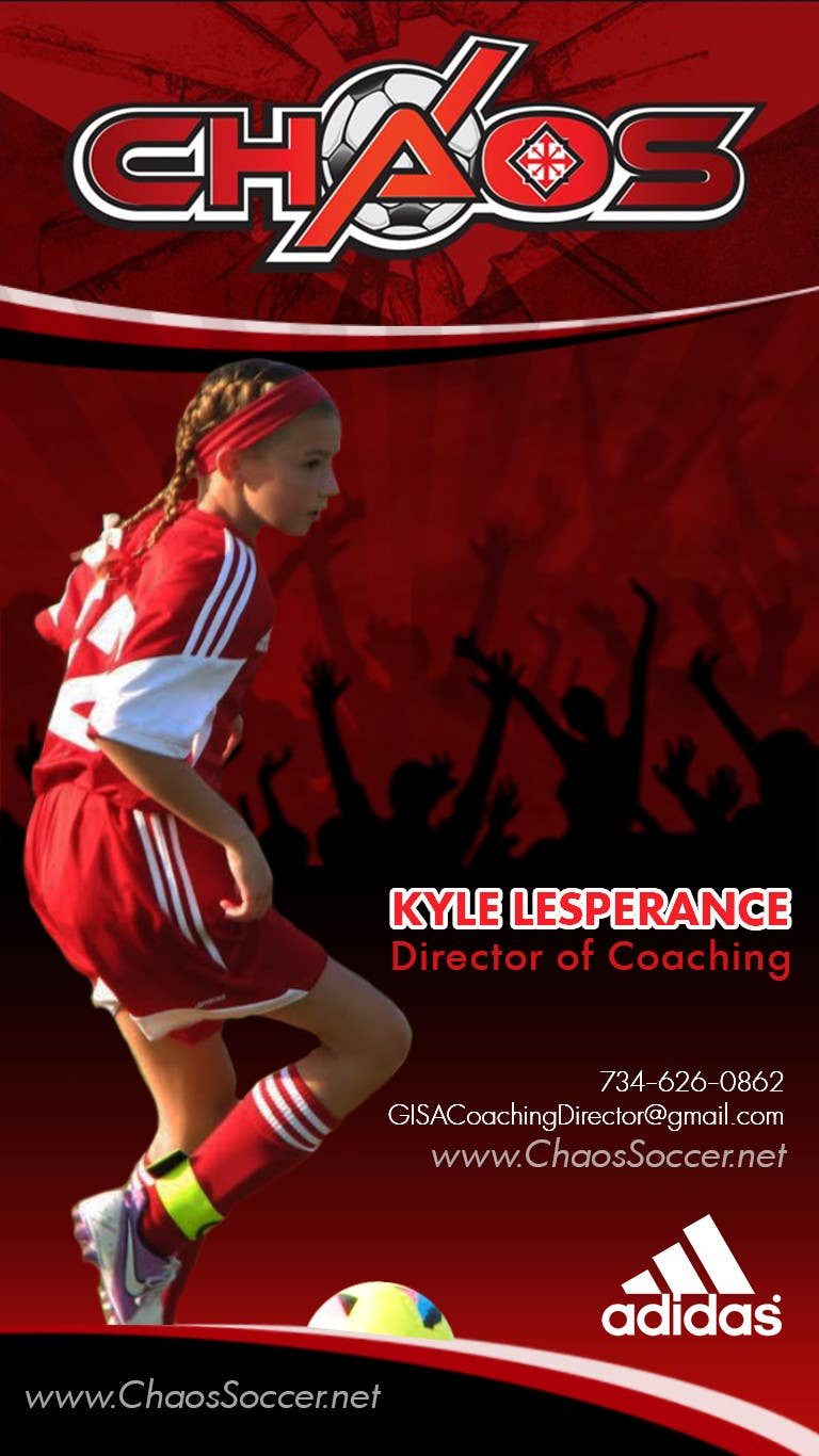 Proposition n°27 du concours (6) Business Card Designs needed for Youth Soccer Team