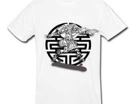 Nro 12 kilpailuun Design an Aztec Skateboard T-Shirt käyttäjältä tetsupogi08