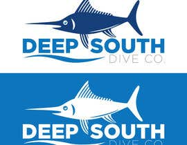 DarDerDor16 tarafından Design a Logo incl. a fish - Deep South Dive Co. için no 7