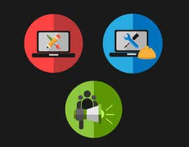 Nro 1 kilpailuun Design Business Service Icons käyttäjältä Blazeloid