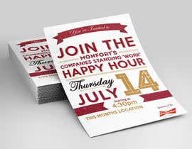 MooN5729 tarafından Design a Happy Hour Flyer için no 16