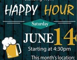 BettyCH tarafından Design a Happy Hour Flyer için no 15