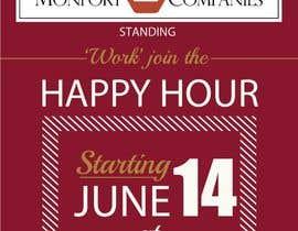 amcgabeykoon tarafından Design a Happy Hour Flyer için no 7