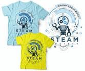 Graphic Design Kilpailutyö #39 kilpailuun Technology Camp t-shirt design set