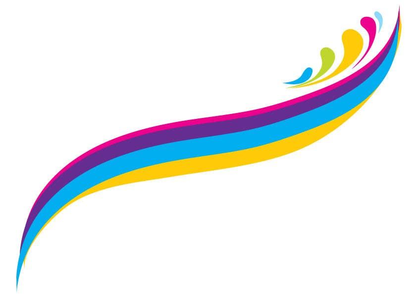 Kilpailutyö #9 kilpailussa Simple colour splash/ swoosh