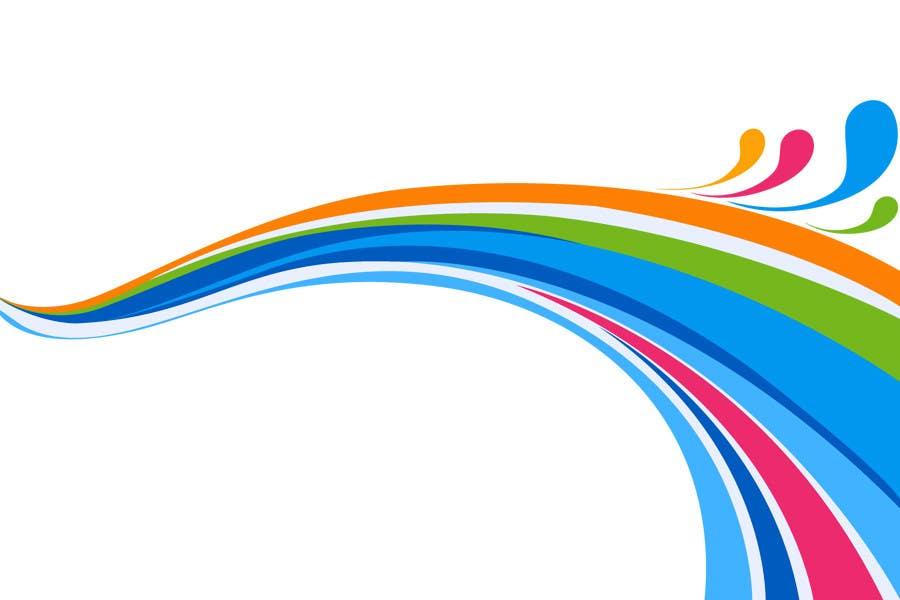 Конкурсная заявка №4 для Simple colour splash/ swoosh