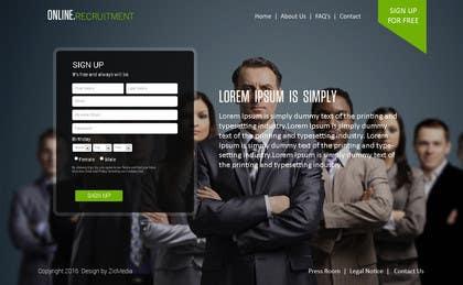 zicmedia tarafından Design contest for online recruitment site where candidates and companies meet online için no 24