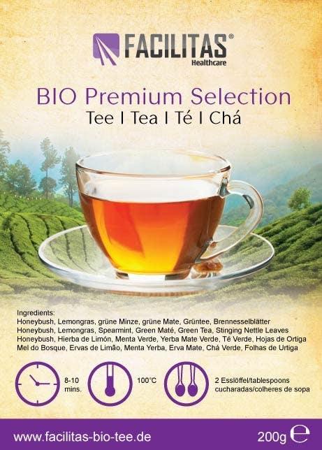 Proposition n°13 du concours Tea Label Design
