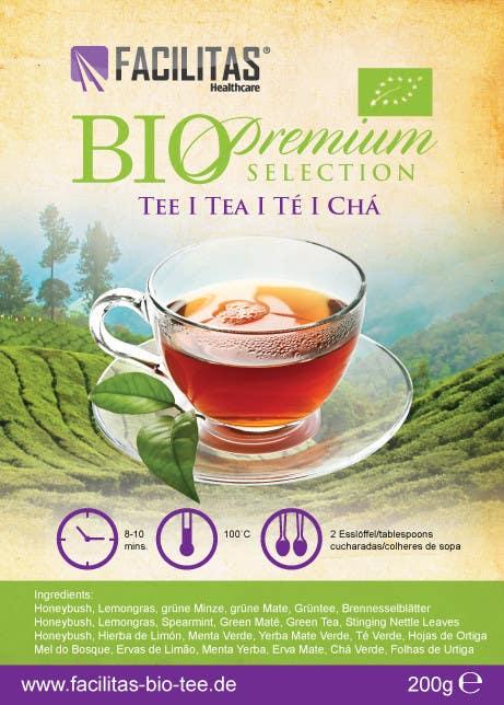 Proposition n°17 du concours Tea Label Design