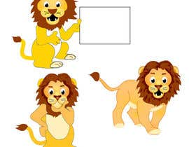 #17 for flat mascot (Lion) for my company by tjayart