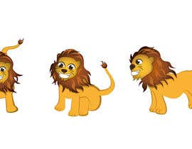 #5 for flat mascot (Lion) for my company by nicolasramone
