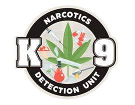 Nro 38 kilpailuun Design a Logo for Narcotics K9 käyttäjältä escarpia