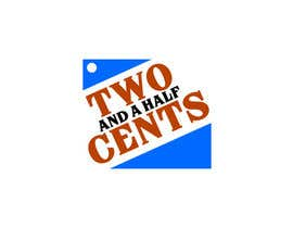 "#65 untuk Design a Logo for ""Two And A Half Cents"" oleh maraz2013"