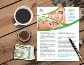 """Nro 28 kilpailuun Design a """"day spa"""" flyer käyttäjältä shazeda"""