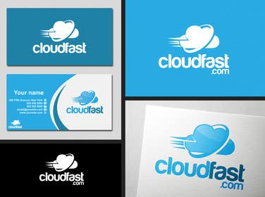 #86 for Design a Logo for 'Cloudfast' - a new web / cloud software services company af SergiuDorin