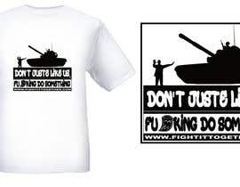 #9 untuk Design a cool T-Shirt with Tank Men and a slogan underneath oleh JHMB