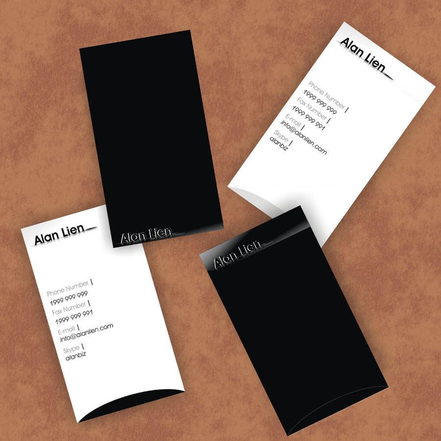 Bài tham dự cuộc thi #3 cho Business Card Design for Alan Lien