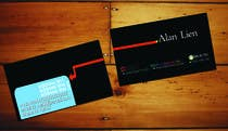 Business Card Design for Alan Lien için Graphic Design11 No.lu Yarışma Girdisi