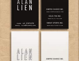 #24 pentru Business Card Design for Alan Lien de către novisaputri