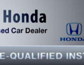Nro 11 kilpailuun Design a Banner for Auto Dealer Website käyttäjältä aditya5