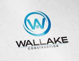 "#234 cho Design a Logo for a Growing construction company. ""Wallake"" bởi QUANGTRUNGDESIGN"