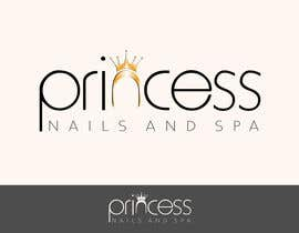 #21 untuk Design a Logo for Princess Nails and Spa - repost oleh miglenamihaylova