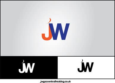 #12 para Design a Logo for www.jwgascentralheating.co.uk por chubbycreations