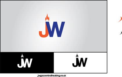 #52 para Design a Logo for www.jwgascentralheating.co.uk por chubbycreations