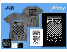 #25 para Design a T-Shirt for Jetflow Tradeshow por salutyte