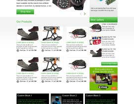 #3 for Design a single page template for Tampafinder by webidea12