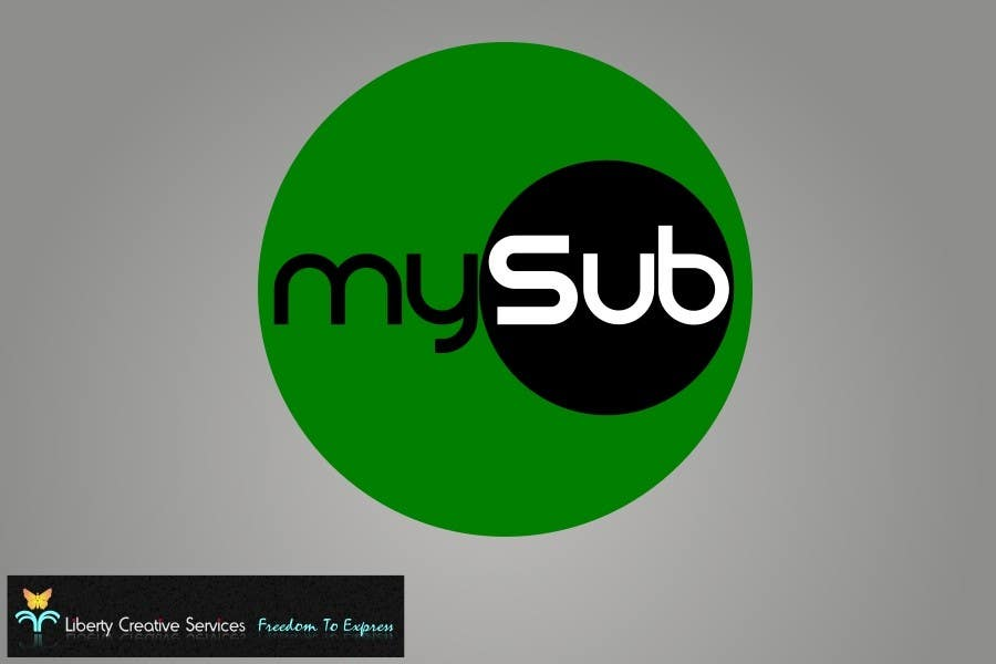 Συμμετοχή Διαγωνισμού #25 για Logo Design for mySub