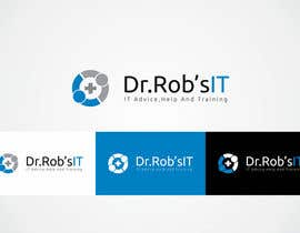 #93 para Design a Logo for Dr Rob's IT por shivamsharmalko